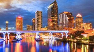 City of Tampa; Tampa Skyline; Tampa Bay;
