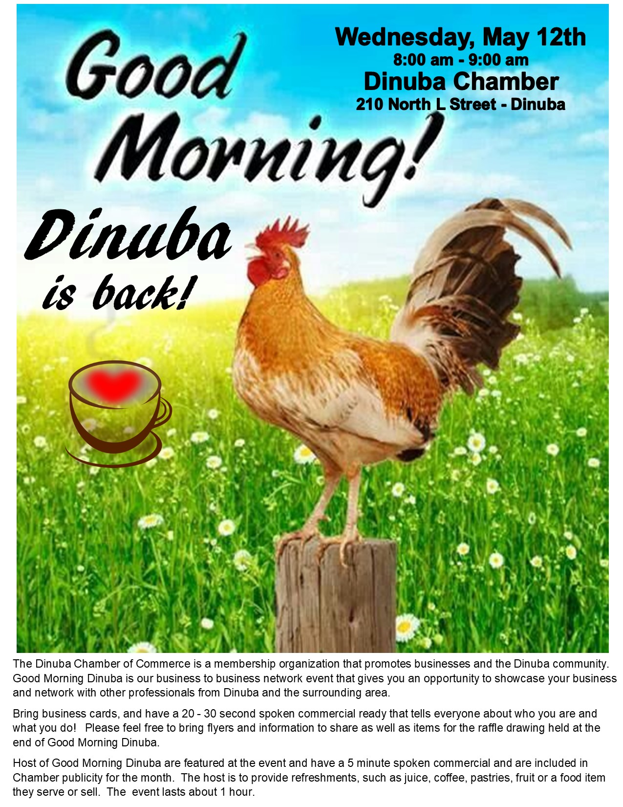 Good Morning Dinuba