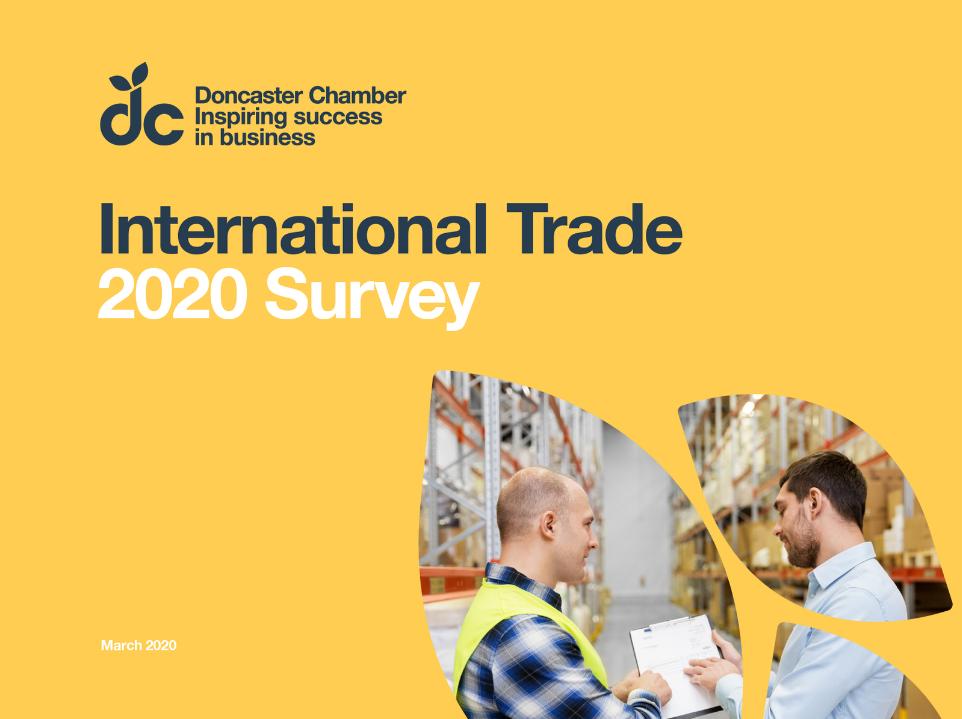 International Trade Survey Cover