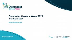 Doncaster Careers Week Comms Pack for Educators
