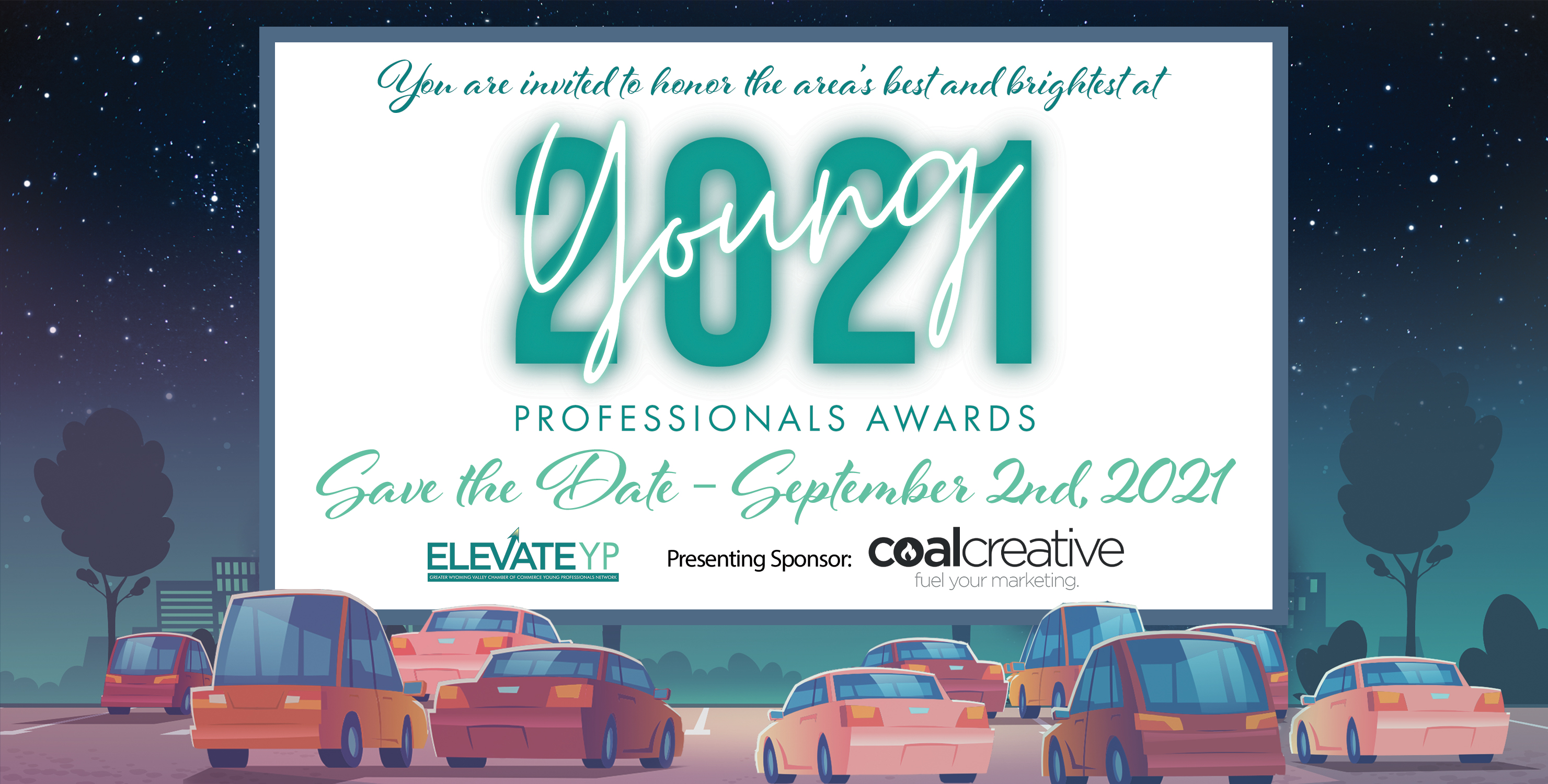 2021 Young Professionals Awards Graphic