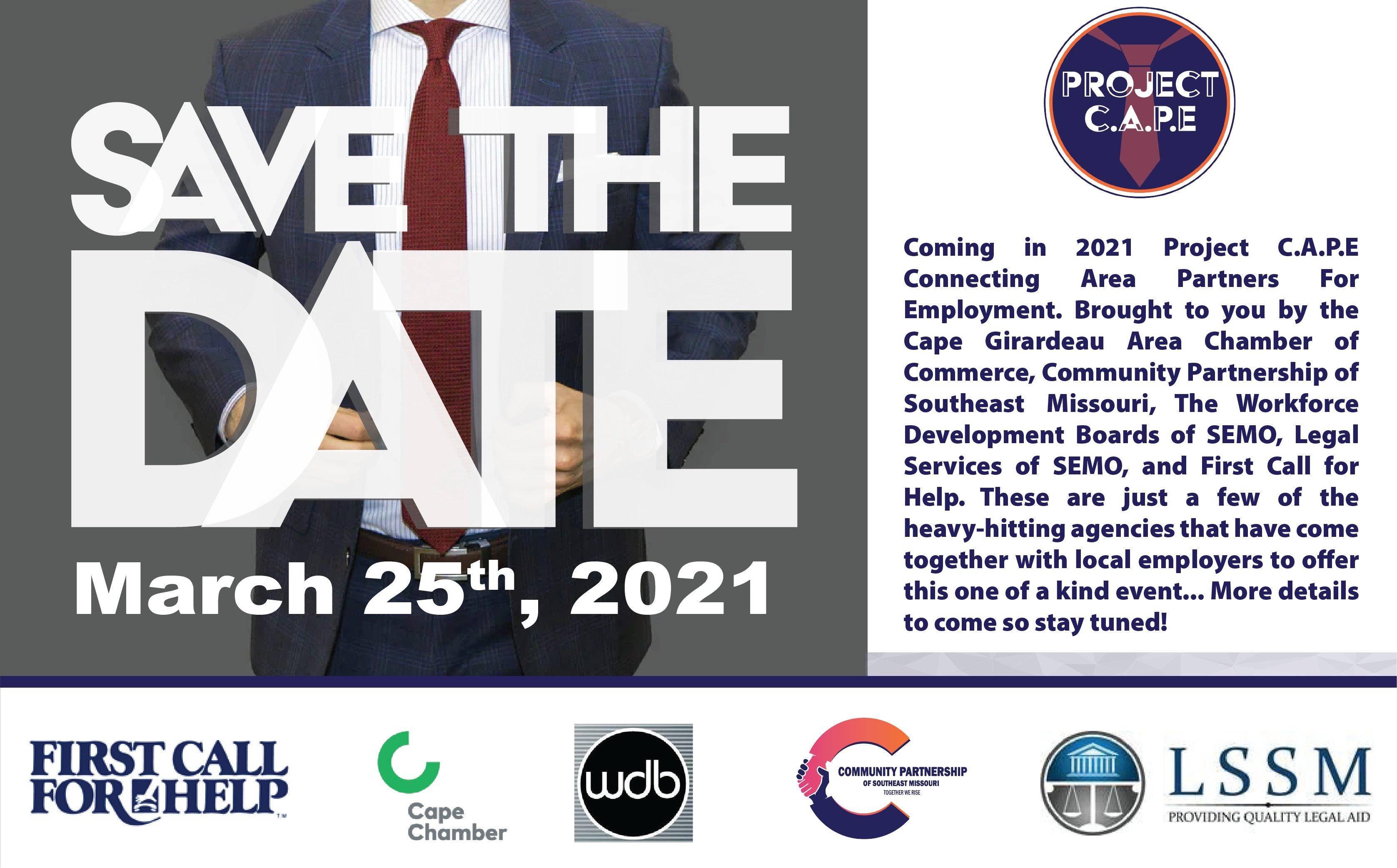 PRoject Cape Save the Date