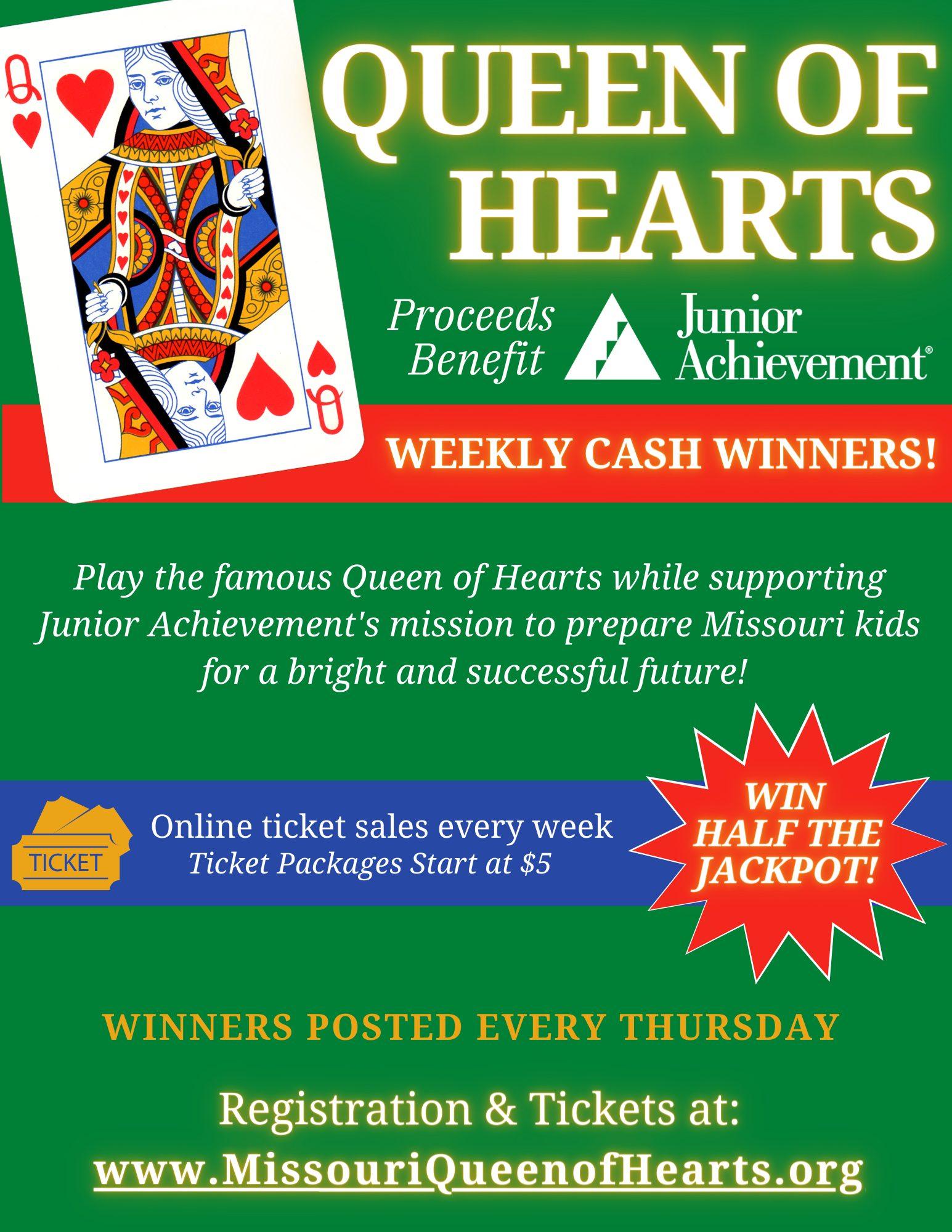 Missouri Queen of Hearts Flyer png