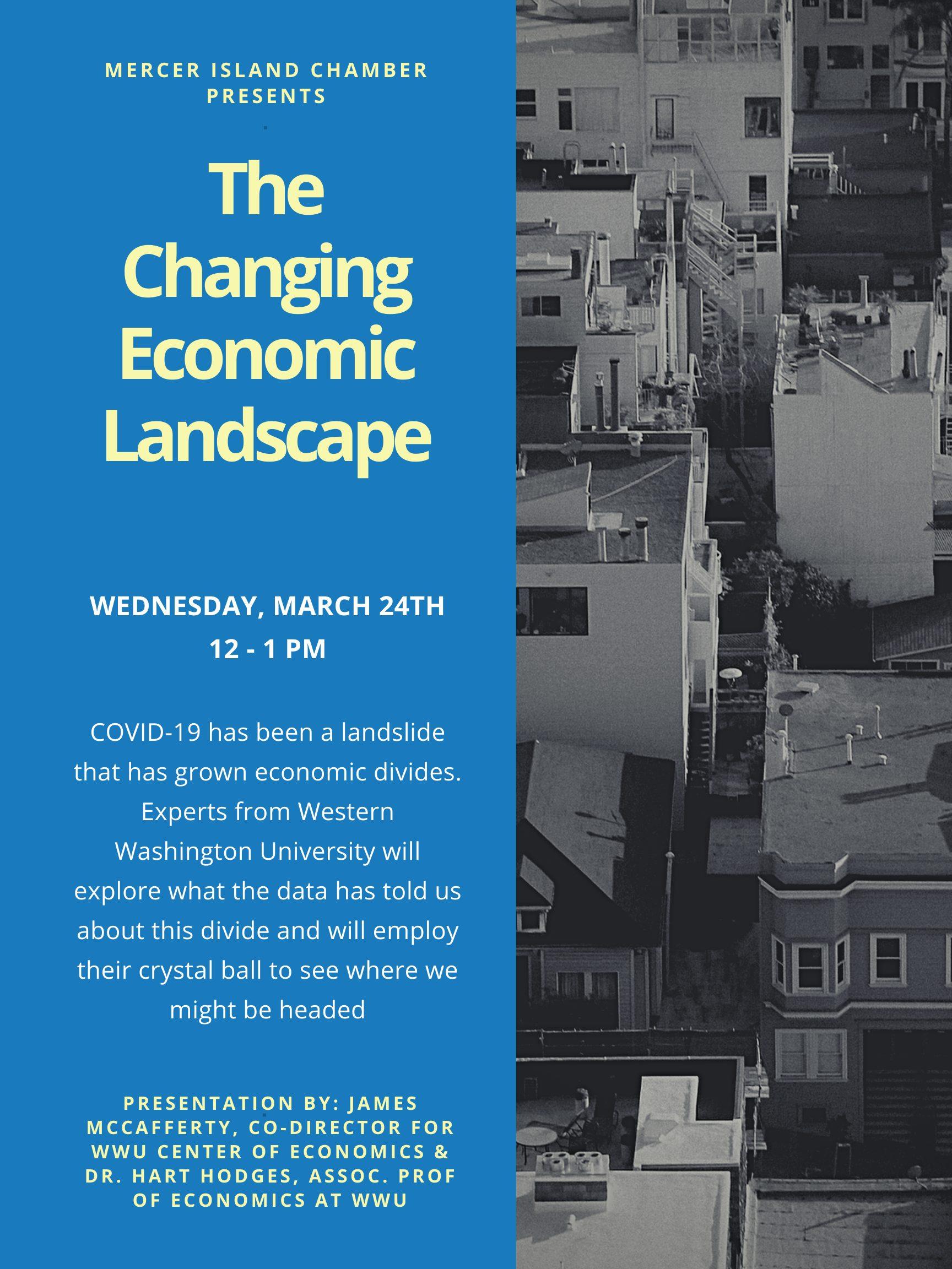 Change Economic Landscape poster