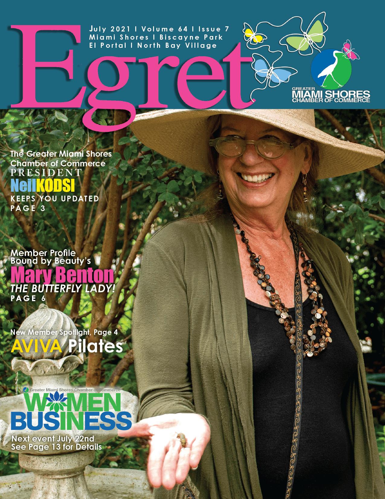 EGRET JULY 2021 cover