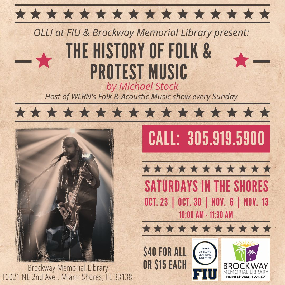 Final-The History of Folk and Protest Music