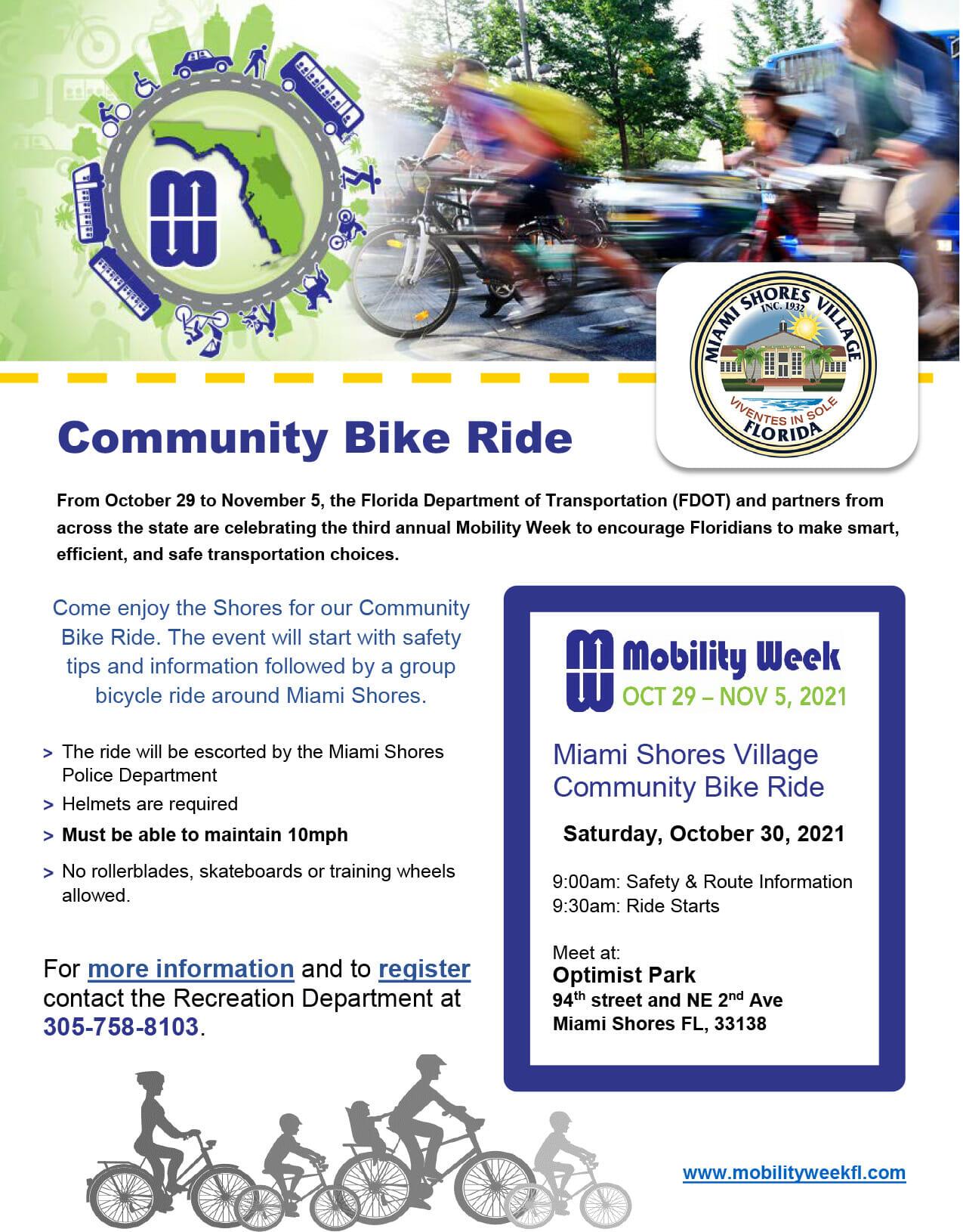 Community Bike ride - Mobility week 2021