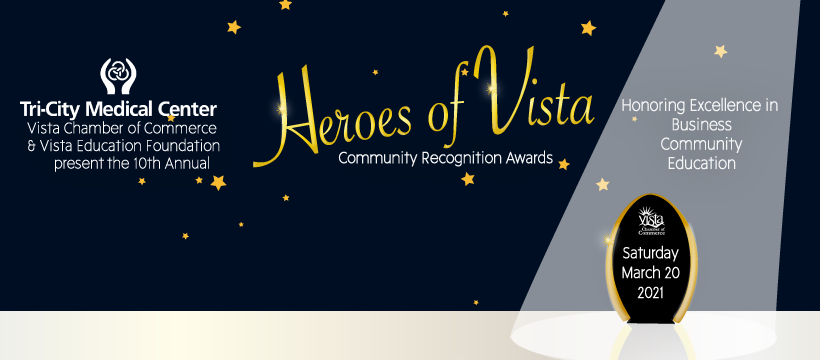 Banner announcing Heroes of Vista event