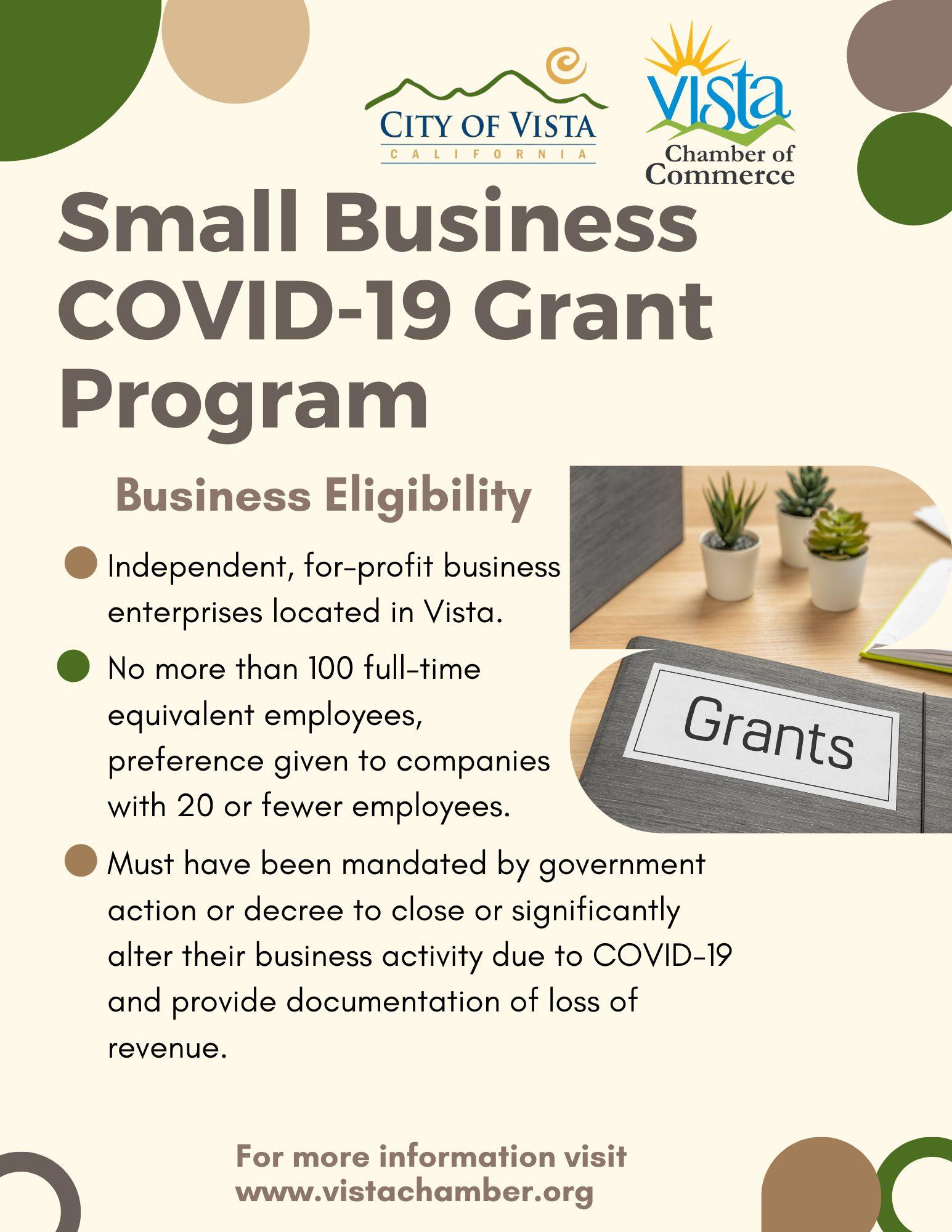 Business Grant Program (Announcement) (8.5 x 11 in) (1)