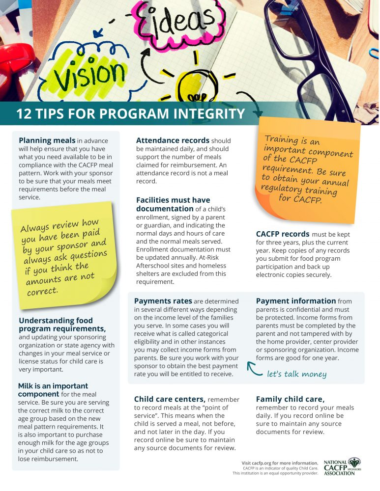 12 tips for program integrity