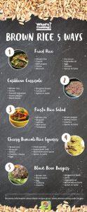 5 ways - brown rice