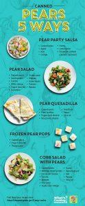 5 ways - pears