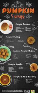 5 ways - pumpkin