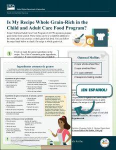 Is my recipe WGR
