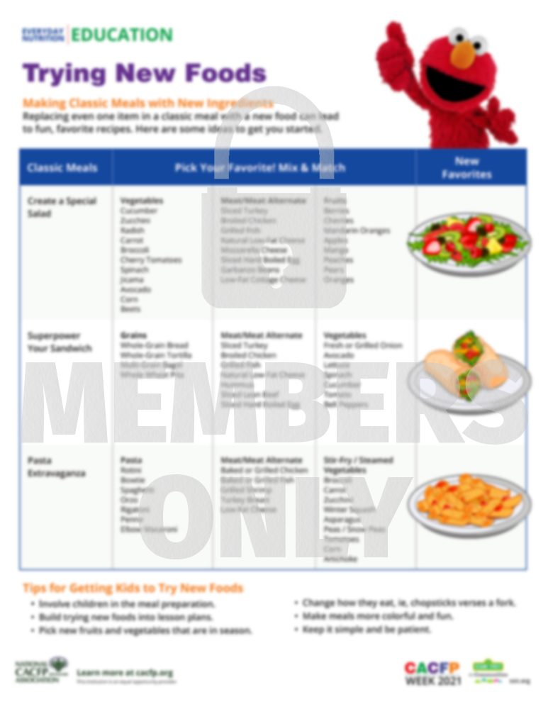 New Foods WM