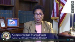 Representative Marcia Fudge, Ohio