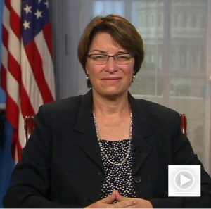 Senator Amy Klobuchar, Minnesota
