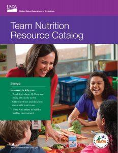 Team Nutrition resource catalogue