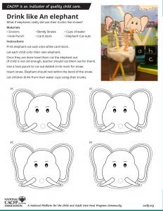 Drink Like an elephant