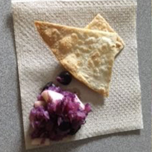 Little Angels Day Care - Fruit Salsa and Homemade Tortilla Chips