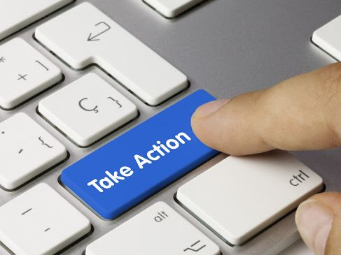 Take Action keyboard