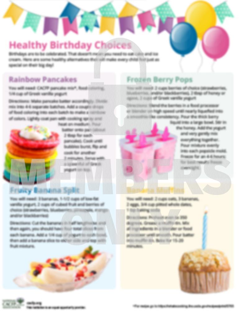 Healthy Birthday WM