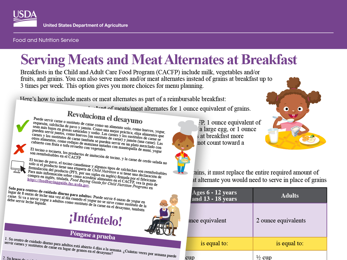 Meats at Breakfast