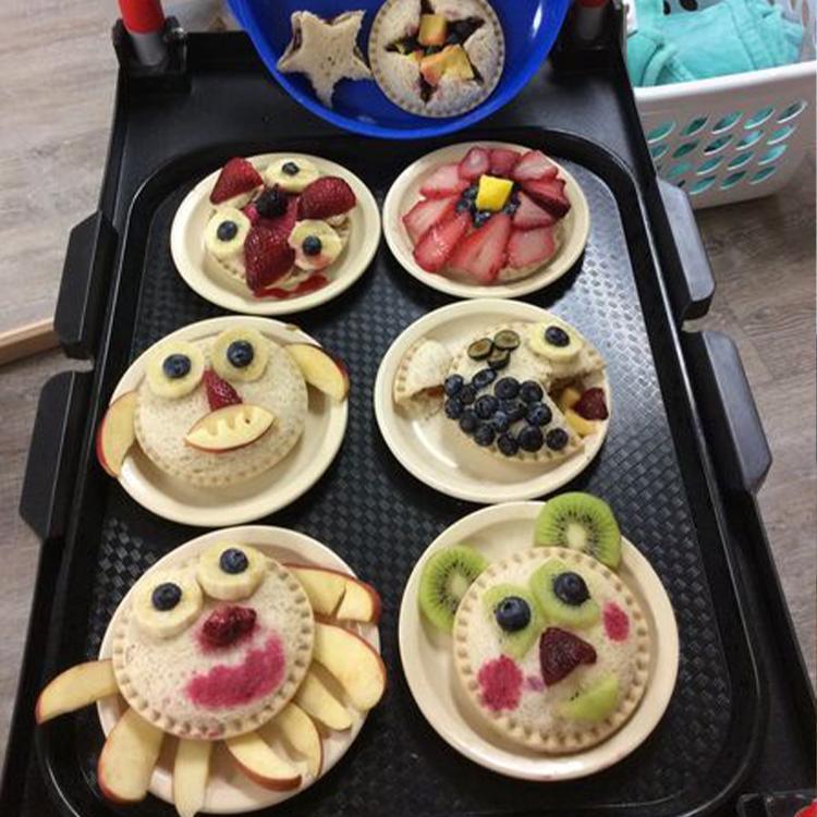BRAD Child Development Programs - Crustables and fruit animals