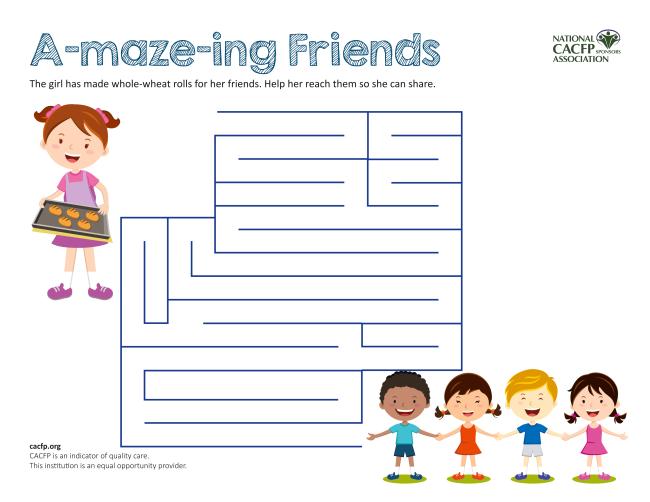 Friendship Maze cacfp