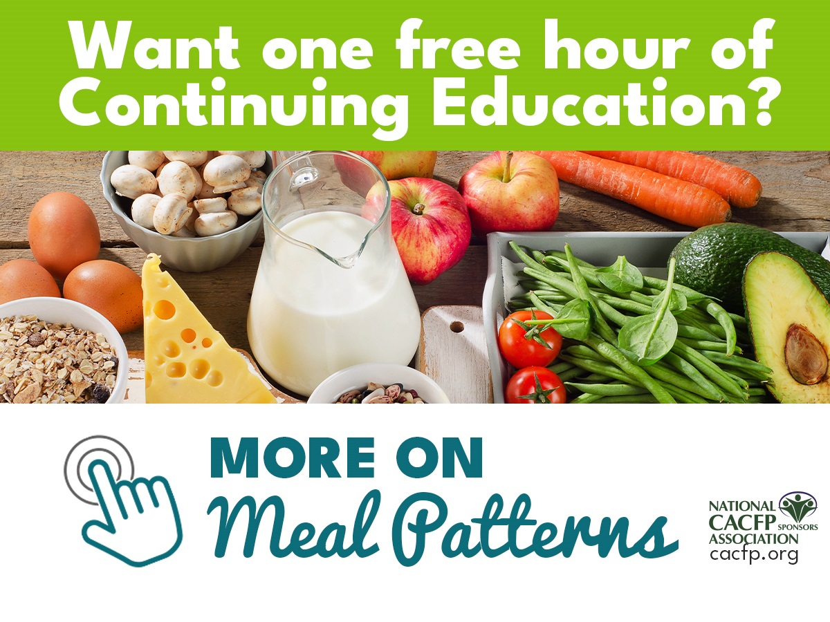 More on Meal Patterns Follow Up