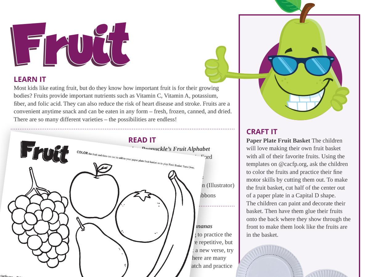 Fruit component