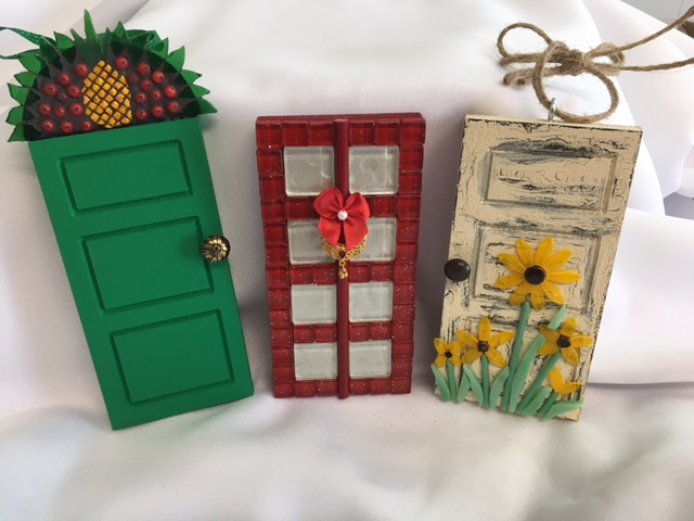 Finished Door Ornaments