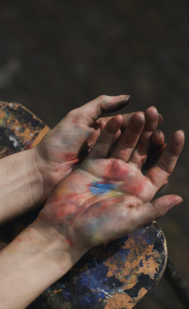painter-hands