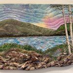 Joyce Duncan, Birches at Sunset