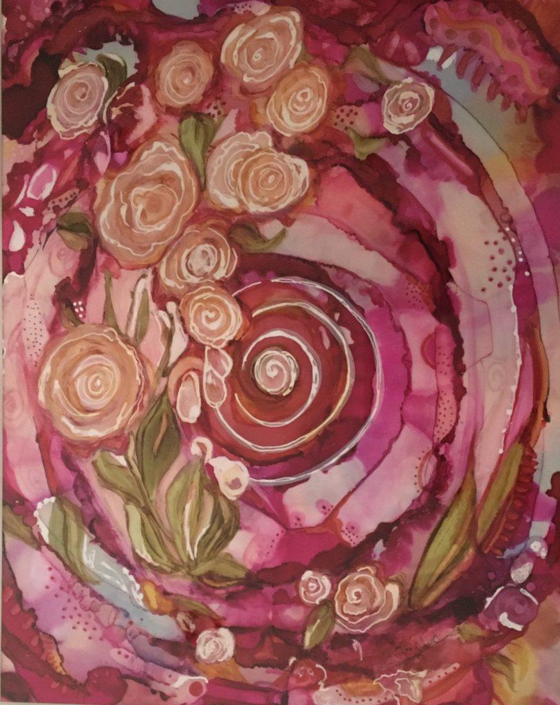 Sarah Bolduc, Steppingstone-Rose Garden