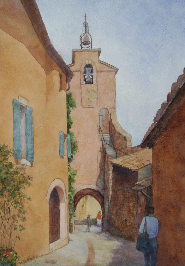 Revelle Hamilton, Street to the Bell Tower, Roussillion