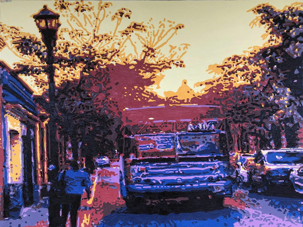Adam Sensel, Sunset Bus Oaxaca