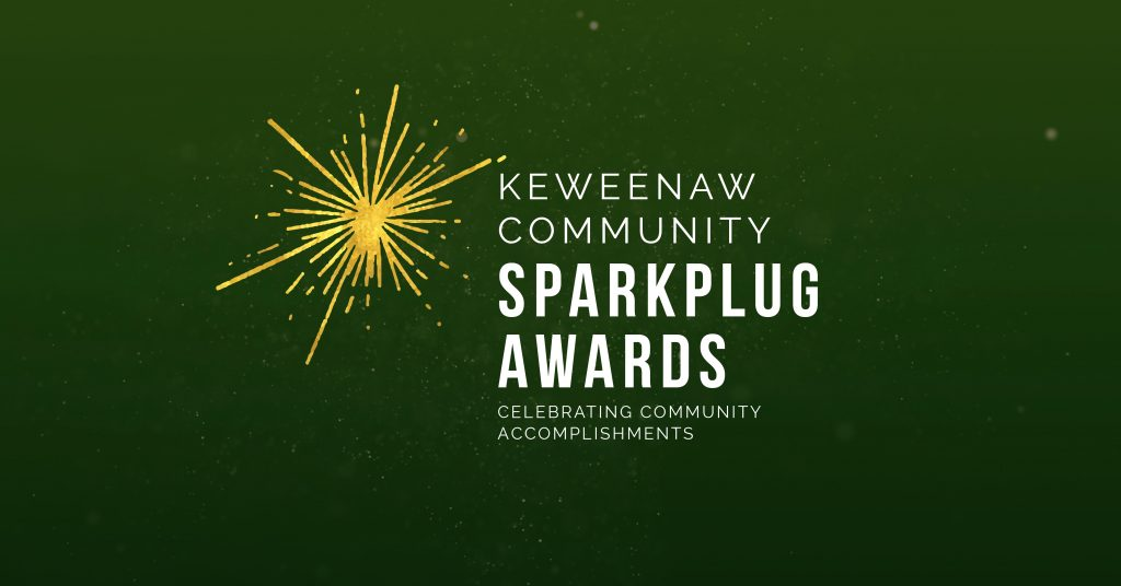 Keweenaw Community Sparkplug Awards header