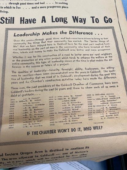 70th Anniversary Chamber ad