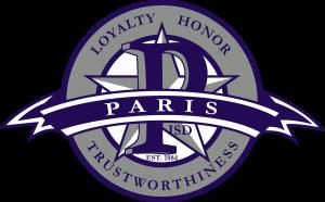 Paris ISD Crest Logo
