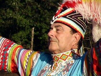 Chief in headdress