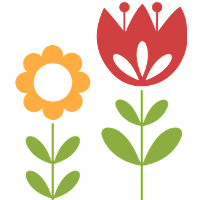 yellow-red-flower-graphic