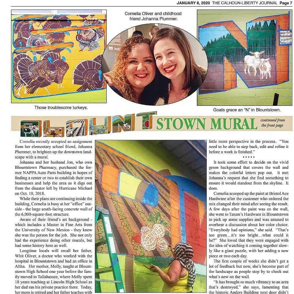 blountstown mural article