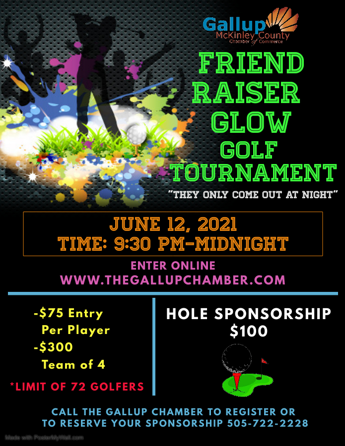 Glow Golf tournament