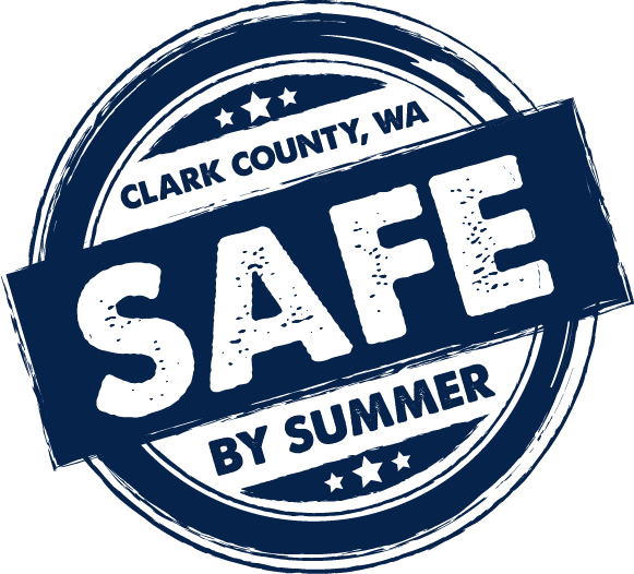 Clark County Safe By Summer logo