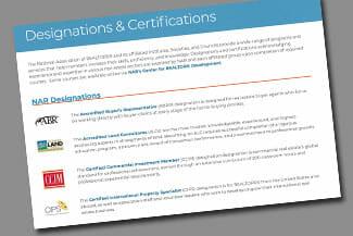 Designations & Certifications