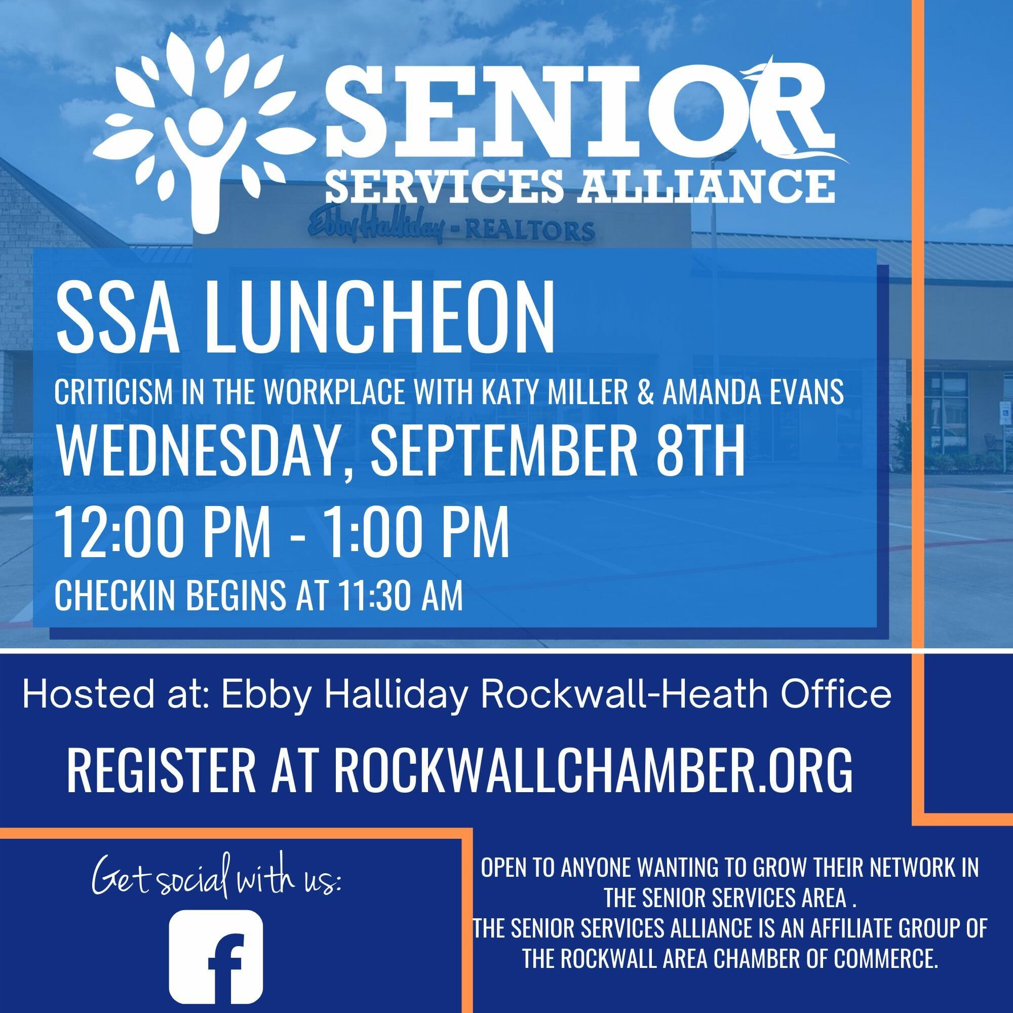 Copy of SSA Luncheon