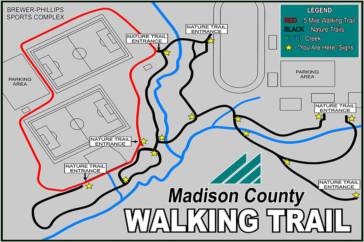 walking trail map