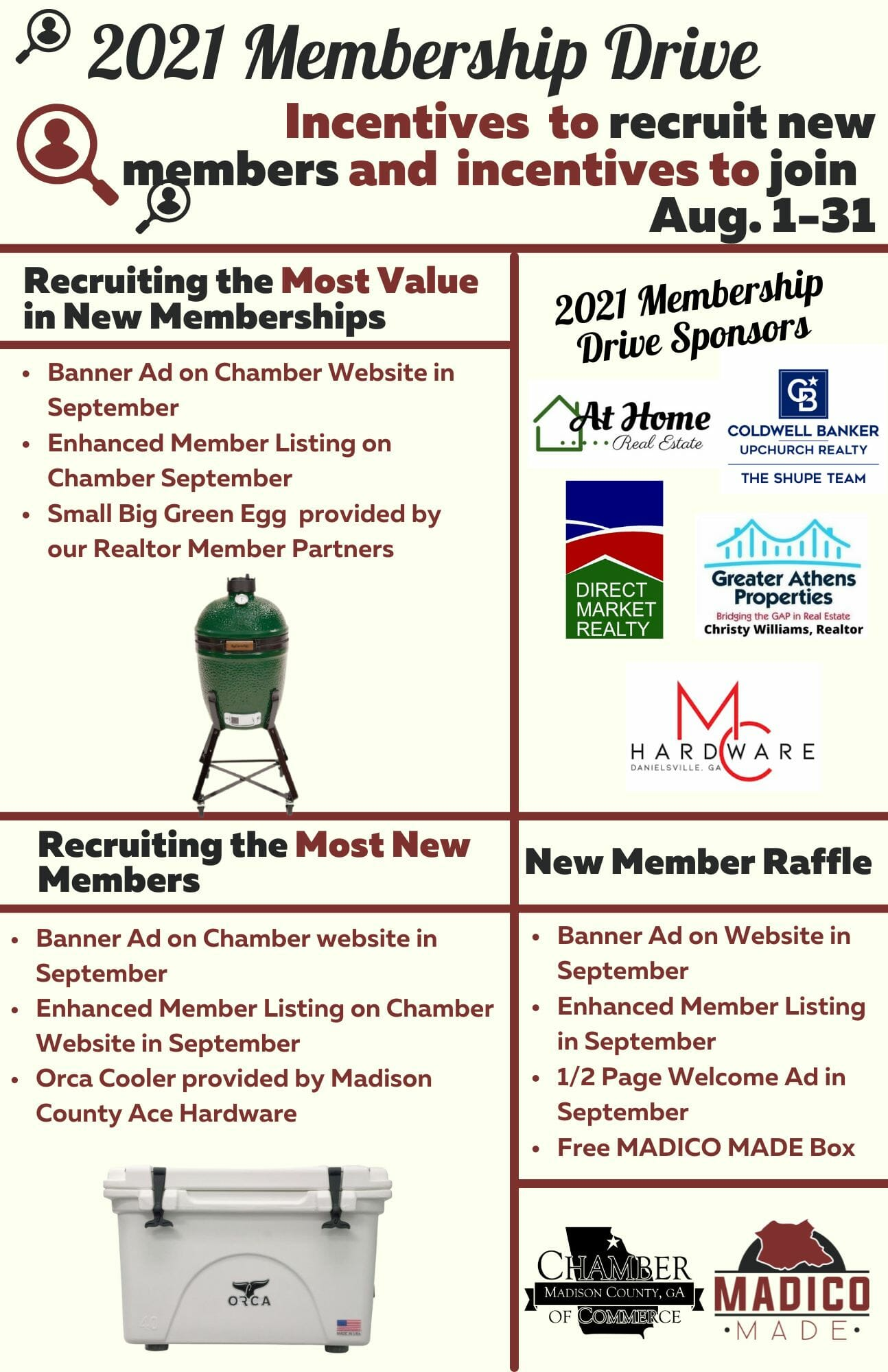 Membership Drive Flyer