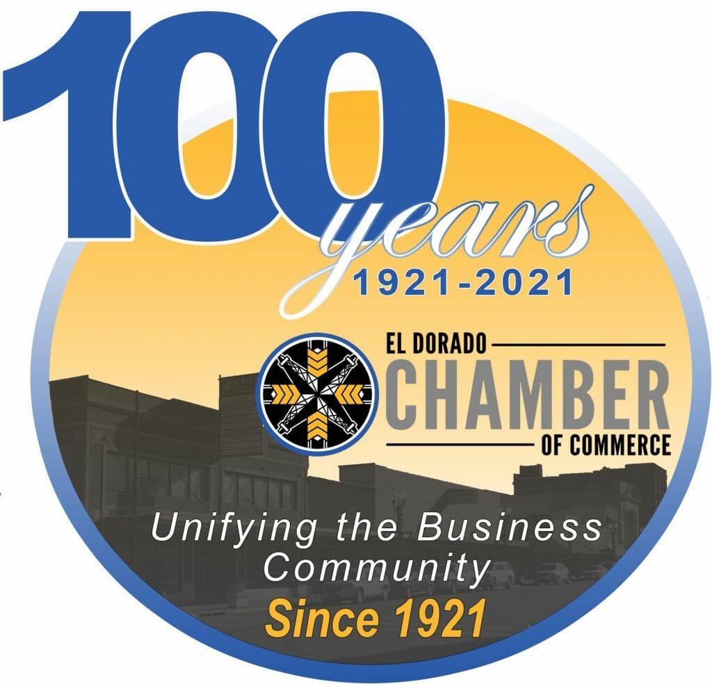 Chamber 100th logo 1
